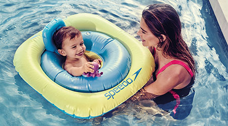 From swimming aids and swim toys, make sure your little ones have everything they need to feel confident in the water.