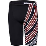Image of Speedo Australia BLACK/SILVER MENS HOUSE OF NATIVES JAMMER