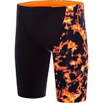 Image of Speedo Australia BLACK/LAVA LIGHT MEN'S FLIPTURNS JAMMER