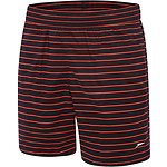 Image of Speedo Australia CARBON/SIREN RED MEN'S SLIM FIT WATERSHORT