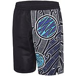 Image of Speedo Australia BLACK/WHITE/SPEED MENS HOUSE OF NATIVES WATERSHORT