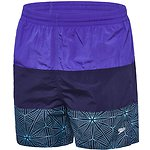 Image of Speedo Australia ULTRAMARINE/SPEEDO NAVY/MOREA MENS PANEL SOLID LEISURE SHORT