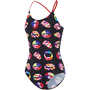 Image of Speedo Australia  FEMALE HIGH LEG TIE ONE PIECE