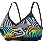 Image of Speedo Australia SOUND WAVES/BLACK WOMEN'S SOUND WAVES D/DD CROP TOP