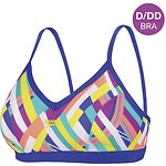 Image of Speedo Australia CORAL REEF/ULTRAMARINE WMNS CORAL REEF D/DD CROP TOP