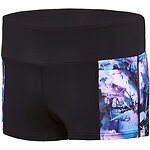 Image of Speedo Australia MARIGOLD WOMEN'S VIRTUAL BLOOM BOYLEG