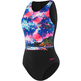 Image of Speedo Australia  WMNS FEATHERS TURBO SUIT ONE PIECE