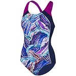 Image of Speedo Australia GEMSTONE/FLURO MAGENTA/SPA WOMEN'S IMAGE UPLIFT ONE PIECE