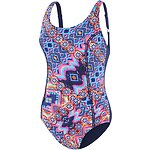 Image of Speedo Australia MEDALLION/SPEEDO NAVY WOMEN'S CONCEALED D CUP TANK ONE PIECE