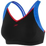 Image of Speedo Australia GLITTER SKIN/BLACK WOMEN'S CROSS TRAINER RACER TOP
