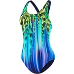 Image of Speedo Australia RAINBOW FALLS BLUE WOMEN'S RAINBOW FALLS BLUE LEADERBACK