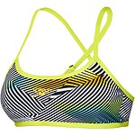 Image of Speedo Australia SOUND WAVES/MOJITO WOMEN'S SOUND WAVES CROSSBACK CROP TOP
