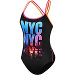 NYC TYPO DOUBLE CROSS BACK ONE PIECE