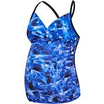 Image of Speedo Australia OPAL DREAMS/BLACK WOMEN'S JOY MATERNITY TANKINI