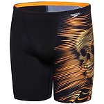 Image of Speedo Australia BLACK/FLURO ORANGE BOYS FLIPTURNS JAMMER