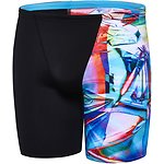 Image of Speedo Australia BLACK/WARPED BOYS WARPED JAMMER