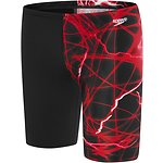 Image of Speedo Australia BLACK/USA RED  BOYS SCHOOL COLOURS JAMMER