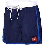 Image of Speedo Australia SPEEDO NAVY/SPEED/WHITE BOYS JUNIOR WAVE WATERSHORT