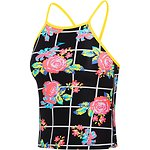 Image of Speedo Australia Floricheck GIRLS FLORICHECK HIGH NECK TANKINI
