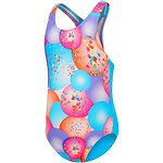 Image of Speedo Australia BALLOON CONFETTI TODDLER GIRLS FUN STRIPE MEDALIST ONE PIECE