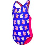 Image of Speedo Australia BUNNY/ELECTRIC PINK  TODDLER GIRLS MEDALIST