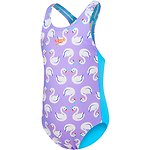 Image of Speedo Australia SWAN/TURQUIOSE TODDLER GIRLS DAY FAIRY MEDALIST ONE PIECE