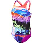 Image of Speedo Australia DREAM LAND/FLURO MAGENTA GIRLS DREAM LAND LEADERBACK ONE PIECE