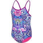 Image of Speedo Australia FLAMINGO PARTY/BELLA GIRLS FLAMINGO PARTY TRICKBACK ONE PIECE