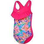 Image of Speedo Australia  TODDLER GIRLS FLORAL DREAM FLOUNCE ONE PIECE