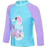 Image of Speedo Australia SEA MAGIC/TULIP TODDLER GIRLS SEA MAGIC LONG SLEEVE RASHIE