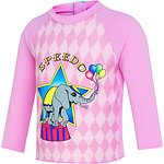 Image of Speedo Australia CIRCUS FUN TODDLER GIRLS SEA MAGIC LONG SLEEVE RASHIE