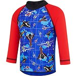 Image of Speedo Australia USA RED/SPEEDO JET TODDLER BOYS LONG SLEEVE SUNTOP