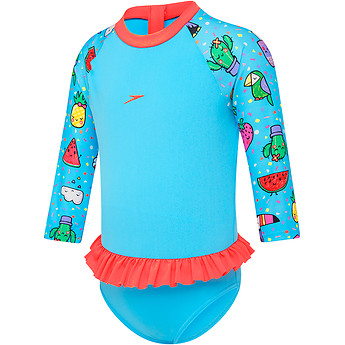 Image of Speedo Australia  TODDLER GIRLS FLOUNCE SUN SUIT