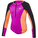 Image of Speedo Australia FLURO MAGENTA/SIREN RED/OPTICAL STAR GIRLS PADDLE SUIT
