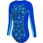 Image of Speedo Australia BEAUTIFUL BLUE/PEACOCK PAISLEY GIRLS PADDLE SUIT