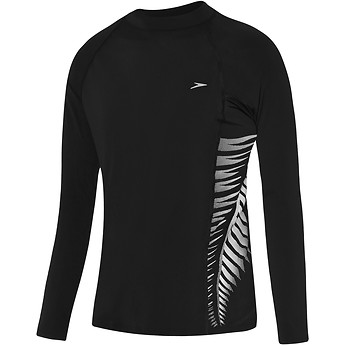 Image of Speedo Australia  BOYS KIWI LONG SLEEVE SLIM FIT SUN TOP