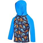 Image of Speedo Australia OCTO FRIENDS TODDLER GIRLS BUBBLE WORLD HOODED LONG SLEEVE RASHIE