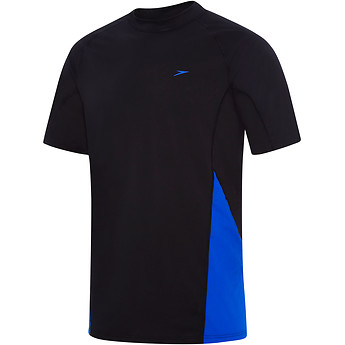 Image of Speedo Australia  MENS FLOW REGULAR SHORT SLEEVE RASHIE