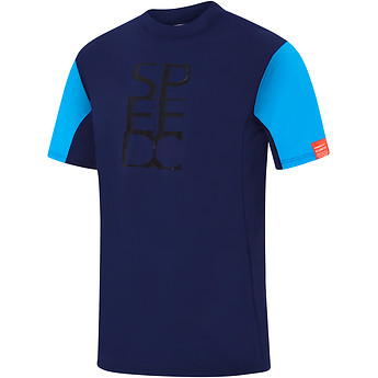 Image of Speedo Australia  MENS MOTION RELAXED SHORT SLEEVE  RASHIE