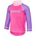 Image of Speedo Australia BELLA LOVE/TULIP TODDLER GIRLS LOGO LONG SLEEVE SUNTOP