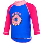 Image of Speedo Australia BEAUTIFUL BLUE/ELECTRICK PINK TODDLER LONG SLEEVE SUN TOP