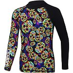 Image of Speedo Australia PSYCH FUSION/ BLACK BOYS FUSION LONG SLEEVE RASHIE