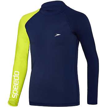 Image of Speedo Australia  BOYS DISSECT LONG SLEEVE SUN TOP