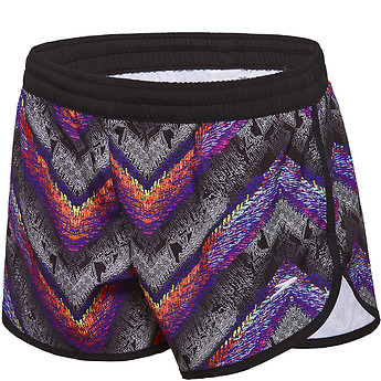 Image of Speedo Australia  GIRLS CHROMA ZAG WORK OUT SHORT
