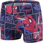 Image of Speedo Australia NVY/LVRD/NBL TODDLER BOYS MARVEL SPIDERMAN AQUASHORT