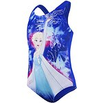 Image of Speedo Australia BTFLBLU/TURQ/PNKSP TODDLER GIRLS DISNEY FROZEN ONE PIECE