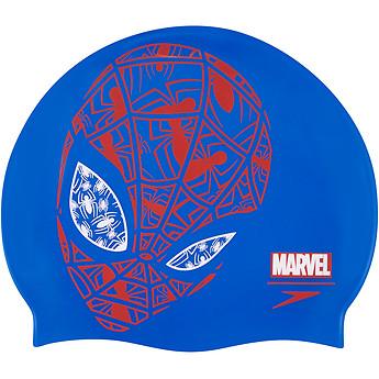Image of Speedo Australia  JUNIOR SLOGAN SPIDERMAN CAP