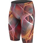 Image of Speedo Australia RED MEN'S FASTSKIN LZR RACER ELITE 2 HIGH WAISTED JAMMER