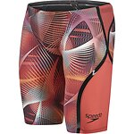 Image of Speedo Australia RED MEN'S FASTSKIN LZR RACER X HIGH WAISTED JAMMER