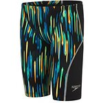 Image of Speedo Australia BLK/CHROMA/BRILL BLUE BOYS FASTSKIN JUNIOR LZR RACER X JAMMER